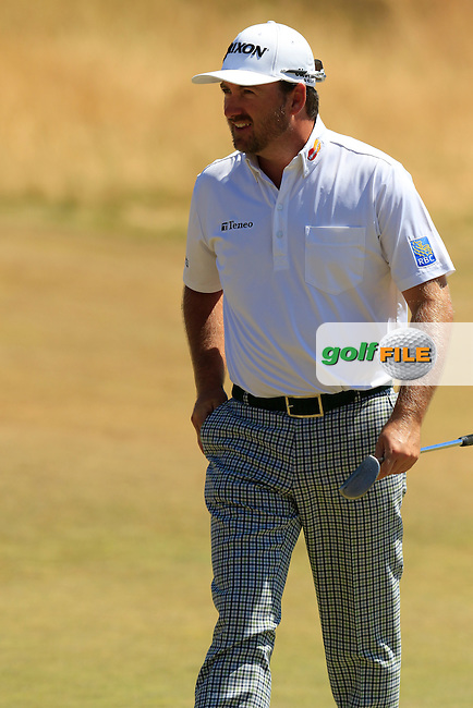 Graeme McDOWELL (NIR) on the 11th green during Wednesday's Practice Day of the 2015 U.S. Open 115th National Championship held at Chambers Bay, Seattle, Washington, USA. 6/17/2015.<br /> Picture: Golffile | Eoin Clarke<br /> <br /> <br /> <br /> <br /> All photo usage must carry mandatory copyright credit (&copy; Golffile | Eoin Clarke)