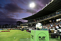 28th February 2020; Netstrata Jubilee Stadium, Sydney, New South Wales, Australia; A League Football, Sydney FC versus Western Sydney Wanderers; a general view of the sunset over the stadium before kick off