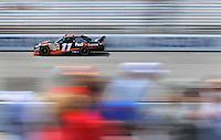 May 2, 2008; Richmond, VA, USA; NASCAR Sprint Cup Series driver Denny Hamlin during practice for the Dan Lowry 400 at the Richmond International Raceway. Mandatory Credit: Mark J. Rebilas-US PRESSWIRE