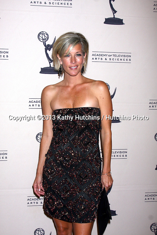 LOS ANGELES - JUN 13:  Laura Wright arrives at the Daytime Emmy Nominees Reception presented by ATAS at the Montage Beverly Hills on June 13, 2013 in Beverly Hills, CA