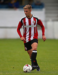 Harvey Gilmour of Sheffield Utd during the U23 Professional Development League Two match at the Local Look Stadium, Sheffield. Picture date: September 26th, 2016. Pic Simon Bellis/Sportimage