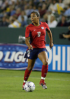 Danielle Slaton, USWNT vs. Costa Rica, September 1, 2003.