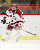 Dan Ford (Harvard - 5) - The Harvard University Crimson defeated the St. Lawrence University Saints 4-3 on senior night Saturday, February 26, 2011, at Bright Hockey Center in Cambridge, Massachusetts.