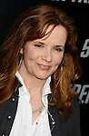 """HOLLYWOOD, CA. - April 30: Lea Thompson arrives at the Los Angeles premiere of """"Star Trek"""" at the Grauman's Chinese Theater on April 30, 2009 in Hollywood, California.a"""