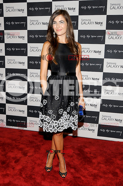 NEW YORK - AUGUST 15: Actress Camilla Belle attends Samsung Galaxy Note 10.1 Launch Event at Jazz at Lincoln Center on August 15, 2012 in New York City. (Photo by MPI81/MediaPunchInc) /NortePhoto.com<br />