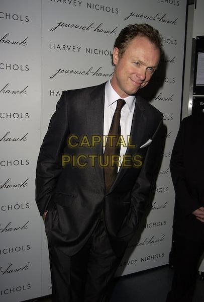 GARY KEMP .The Jovovich-Hawk clothing range UK launch, Harvey Nicholls, London, UK..April 27th, 2006.Ref: CAN.half length grey gray suit jacket.www.capitalpictures.com.sales@capitalpictures.com.©Capital Pictures