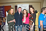 Pictured at the Wedding Fayre in the Devon Inn Hotel, Templeglantine on Sunday were L-R : Mags Horgan-Healy (Finesse Bridal Wear Listowel), David Curtin (Mountcollins), Christina O'Connell (Abbeyfeale) and Liz Horgan (Finesse Bridal Wear Listowel).