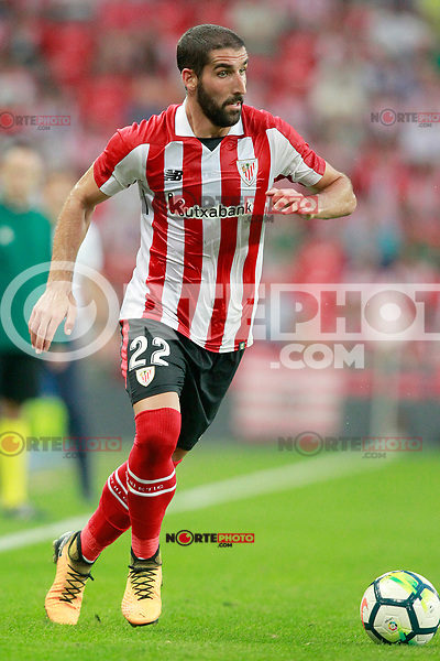 Athletic Club de Bilbao's Raul Garcia during Europa League Third Qualifying Round, 2nd leg. April 5,2012. (ALTERPHOTOS/Acero) /NortePhoto.com