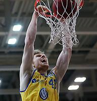 Basketball  1. Bundesliga  2017/2018  Hauptrunde  14. Spieltag  23.12.2017 Walter Tigers Tuebingen - Basketball Laewen Braunschweig Dunking; Scott Eatherton (Braunschweig)