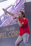 02.06.2012. David Bisbal performs during in the ´Cadena 100´ 20 th anniversary Concert at the stadium Vicente Calderon in Madrid. In the image: David Bisbal  (Alterphotos/Marta Gonzalez)