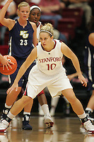 STANFORD, CA - NOVEMBER 1:  JJ Hones of the Stanford Cardinal during Stanford's 107-49 win over Vanguard on November 8, 2009 at Maples Pavilion in Stanford, California.