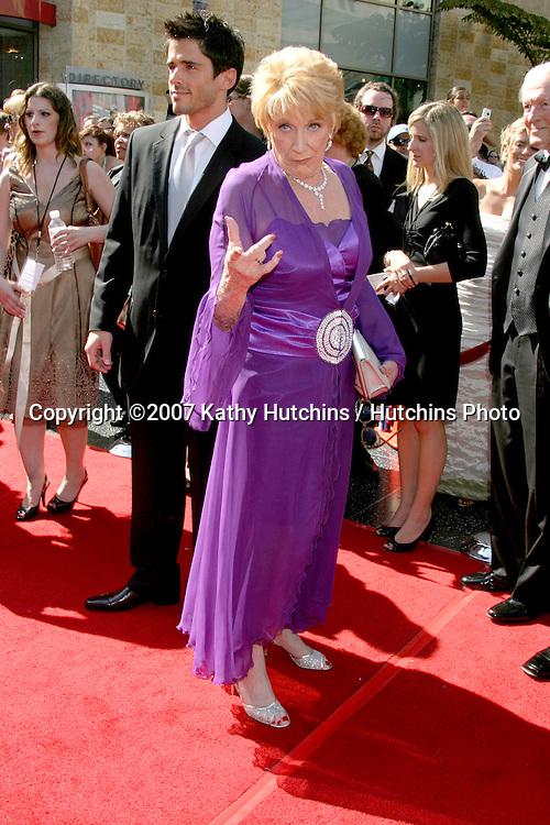 Jeanne Cooper.Daytime Emmys 2007.Kodak Theater.Los Angeles, CA.June 15, 2007.©2007 Kathy Hutchins / Hutchins Photo....