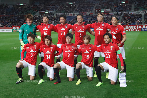 Urawa Reds team group line-up, <br /> FEBRUARY 28, 2017 - Football / Soccer : 2017 AFC Champions League Group F match between Urawa Reds 5-2 FC Seoul <br /> at Saitama Stadium 2002, Saitama, Japan. <br /> (Photo by Sho Tamura/AFLO SPORT)