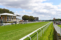 A general view of Salisbury Racecourse during Horse Racing at Salisbury Racecourse on 15th August 2019