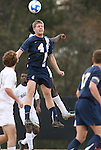02 December 2007: West Virginia's Alex Erwin (4). The Wake Forest University Demon Deacons defeated the West Virginia University Mountaineers 3-1 at W. Dennie Spry Soccer Stadium in Winston-Salem, North Carolina in a Third Round NCAA Division I Mens Soccer Tournament game.
