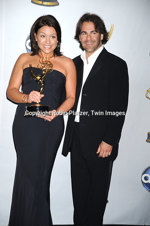Rachael Ray, winner of Outstanding Talk Show/Entertainment Show and husband John Cusimano..at The 35th Annual Daytime Entertainment Emmy Awards at The Kodak Theatre on June 20, 2008 in Hollywood California.....Robin Platzer, Twin Images