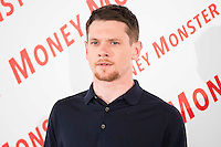 """American actor Jack O'Connell during the presentation of the film """"Money Monster"""" in Madrid. May 18, 2016. (ALTERPHOTOS/Borja B.Hojas) /NortePhoto.com"""