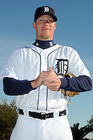 Feb 21, 2009; Lakeland, FL, USA; The Detroit Tigers pitcher Kyle Bloom (53) during photoday at Tigertown. Mandatory Credit: Tomasso De Rosa/ Four Seam Images