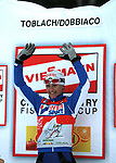 TOUR DE SKI 2010<br /> Arianna FOLLIS (ITA) has won the 5th stage of the Tour de ski 2010 between Cortina d'Ampezzo and Toblach - Dobbiaco in Italy, on Wednesday January the 6th 2010. The 3rd edition of Tour de ski will end on Sunday in Val di Fiemme, Trentino, Italy. <br /> Photo: Pierre TEYSSOT