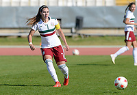 20190301 - LARNACA , CYPRUS : Mexican Nayeli Rangel pictured during a women's soccer game between Thailand and Mexico , on Friday 1 March 2019 at the GSZ Stadium in Larnaca , Cyprus . This is the second game in group B for both teams during the Cyprus Womens Cup 2019 , a prestigious women soccer tournament as a preparation on the FIFA Women's World Cup 2019 in France . PHOTO SPORTPIX.BE | DAVID CATRY