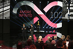 Urbano Cairo RCS MediaGroup President and CEO at the Presentation of the Grand Start of the 102nd edition of the Giro d'Italia 2019 held in the RAI TV studios, Milan, Italy. 31st October 2018.<br /> Picture: LaPresse/Fabio Ferrari | Cyclefile<br /> <br /> <br /> All photos usage must carry mandatory copyright credit (&copy; Cyclefile | LaPresse/Fabio Ferrari)