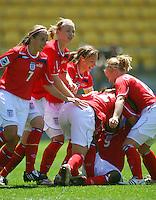 081030 FIFA Women's Under-17 Football World Cup - Brazil v England