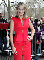 Charlotte Hawkins arriving for the TRIC Awards 2014, at Grosvenor House Hotel, London. 11/03/2014 Picture by: Alexandra Glen / Featureflash