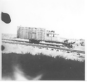 RGS Goose #5 at the Narrow Gauge Motel in south Alamosa.<br /> RGS  Alamosa, CO  Taken by Welch, Ronald - 9/6/1952