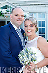 Katie Brosnan, Whitebridge Manor, Ballycashen, Killarney daughter of Michael and Mary, and Johnny Russell, Gortroe, Fossa son of Mike and Ann, who were married in the Prince of Peace church Fossa on Saturday, Fr Tom Looney officiated at the ceremony, best man was Aodhan O'Donoghue, Colin Russell and Paudie McCarthy, bridesmaids were Elaine Cronin, Amy Cronin and Bernie Kelliher, pageboys were Eoin and Rian Brosnan, the reception was held in the Killarney Heights they will reside in Killarney