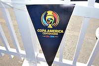 Philadelphia, PA - Tuesday June 14, 2016: Sponsors prior to a Copa America Centenario Group D match between Chile (CHI) and Panama (PAN) at Lincoln Financial Field.