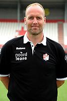 EMMEN - Voetbal, Presentatie FC Emmen, Jens vesting, seizoen 2017-2018, 24-07-2017, FC Emmen trainer Dick Lukkien