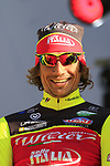 Filippo Pozzato (ITA) Wilier Triestina-Sella Italia team on stage at sign on before the 101st edition of the Tour of Flanders 2017 running 261km from Antwerp to Oudenaarde, Flanders, Belgium. 26th March 2017.<br /> Picture: Eoin Clarke | Cyclefile<br /> <br /> <br /> All photos usage must carry mandatory copyright credit (&copy; Cyclefile | Eoin Clarke)