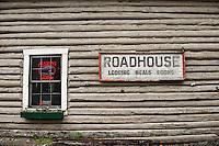 Roadhouse inn and restaurant, Talkeetna, AK, Alaska