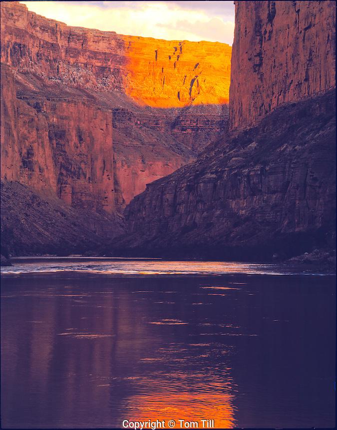 Marble Canyon relections      Grand Canyon National Park, Arizona      Colorado River