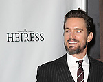 Matt Bomer attending the Broadway Opening Night Performance of 'The Heiress' at The Walter Kerr Theatre on 11/01/2012 in New York.