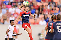 Houston, TX - Sunday Oct. 09, 2016: Alyssa Kleiner during the National Women's Soccer League (NWSL) Championship match between the Washington Spirit and the Western New York Flash at BBVA Compass Stadium. The Western New York Flash win 3-2 on penalty kicks after playing to a 2-2 tie.