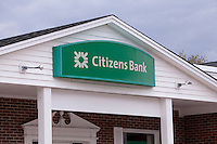 Citizens Bank branch is pictured in Conway, New Hampshire Thursday June 13, 2013. A wholly owned subsidiary of the Royal Bank of Scotland Group, Citizens Financial Group, Inc. is an American bank.