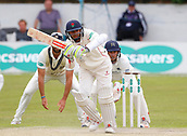 June 12th 2017, Trafalgar Road Ground, Southport, England; Specsavers County Championship Division One Day Four; Lancashire versus Middlesex;  at the crease during the second Lancashire innings; Haseeb Hameed of Lancashire at the crease today