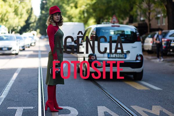 Street Style - Moda de Rua<br /> <br /> Milao - Verao 2018<br /> <br /> foto: FOTOSITE