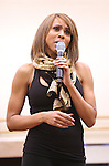 Deborah Cox performing during North American Premiere presentation of 'The Bodyguard' at The New 42nd Street Studios on November 10, 2016 in New York City.