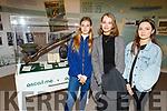 Alexandra Dauerman, Alexandra Nalk and Paula Utnak at the Kerry County Museum on Tuesday.