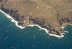 Hawaii: Molokai, aerial view of coast. .Photo himolo114-71744..Photo copyright Lee Foster, www.fostertravel.com, lee@fostertravel.com, 510-549-2202