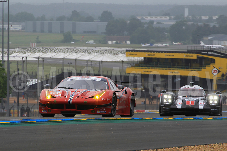 #62 SCUDERIA CORSA (USA) FERRARI 458 ITALIA LMGTE AM WILLIAM SWEEDLER (USA) TOWSEND BELL (USA) JEFFREY SEGAL (USA)