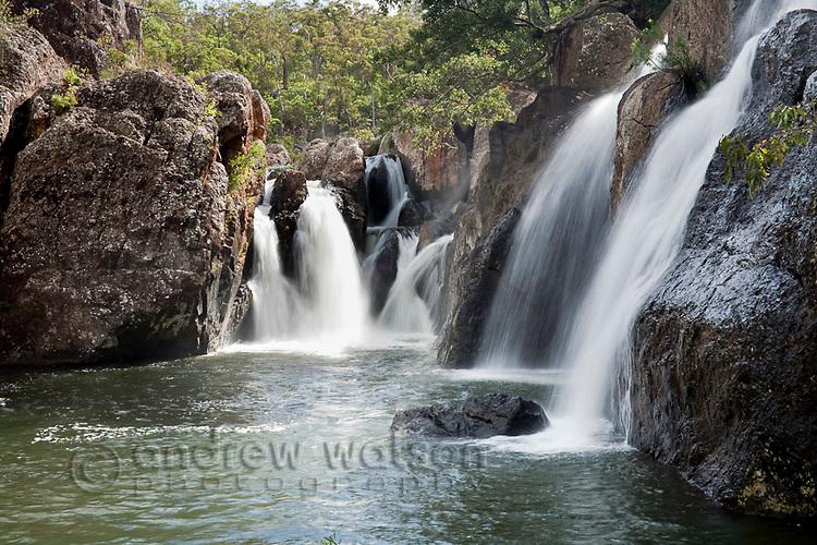 Little Millstream Falls.  Ravenshoe, Atherton Tablelands, Queensland, Australia