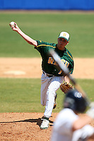 March 14, 2010:  Pitcher McHale Marisuen (11) of North Dakota State University Bison vs. Akron University at Chain of Lakes Park in Winter Haven, FL.  Photo By Mike Janes/Four Seam Images