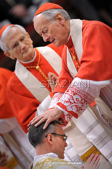 Cardinal Paolo Sardi ;Pope Benedict XVI The pontiff appointed two new bishops during the mass. the Solemnity of Epiphany at St Peter's basilica at the Vaticanon January 6, 2012 .