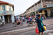 A street in old part of Georgetown of Penang, Malaysia. Photo: Sanjit Das/Panos