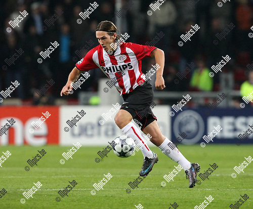 2008-10-22 / UEFA Champions league / PSV - Marseille / .Stijn Wuytens (PSV)..Picture by Maarten Straetemans (SMB)