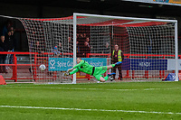 Mark Halstead of Morecambe pushes the ball wide during Crawley Town vs Morecambe, Sky Bet EFL League 2 Football at Broadfield Stadium on 16th November 2019