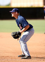 Nate Recknagel / Cleveland Indians 2008 Instructional League..Photo by:  Bill Mitchell/Four Seam Images